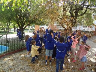 Dança das folhas 8