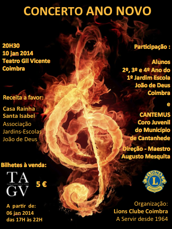 Programa - Concerto de Ano Novo